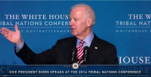 Vice President Biden Speaks at the 2014 White House Tribal Nations Conference