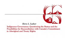 Indigenous Governance: Questioning the Status and the Possibilities for Reconciliation with Canada's Commitment to Aboriginal and Treaty Rights