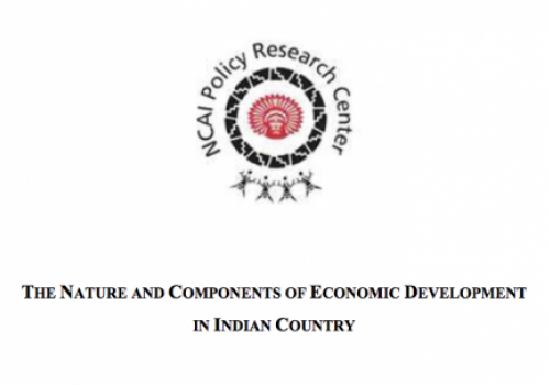 The Nature and Components of Economic Development in Indian Country